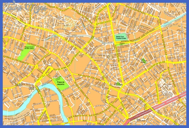 recife streetmap Recife Map