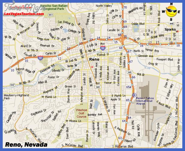 reno map  1 Reno Map