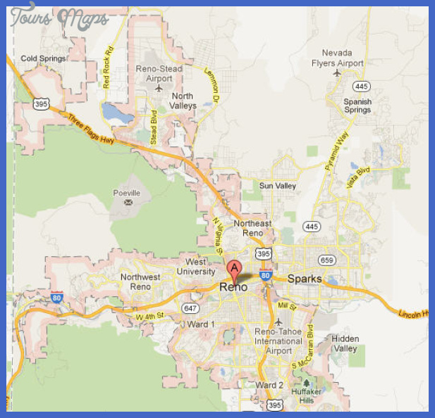 reno map Reno Map