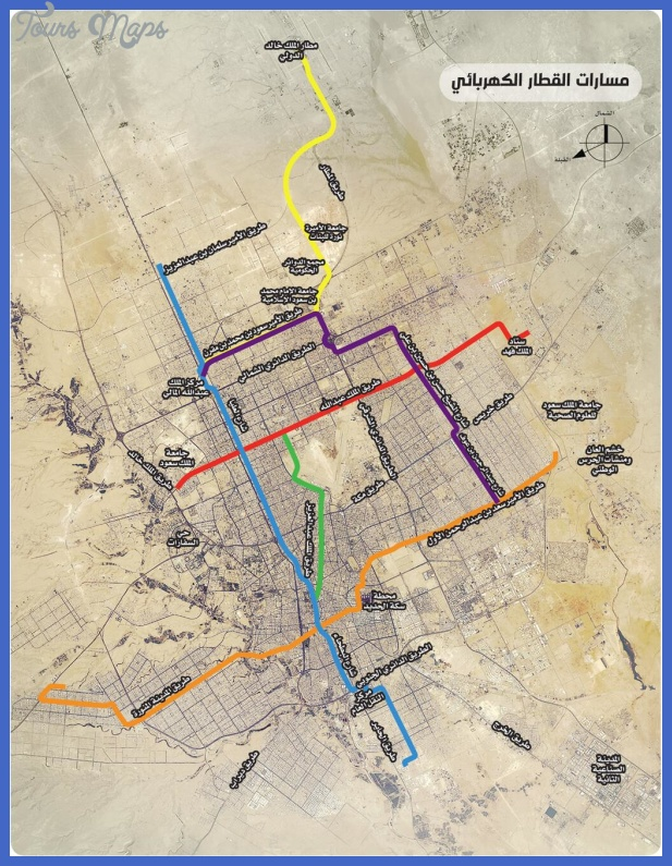riyadh subway map  1 Riyadh Subway Map