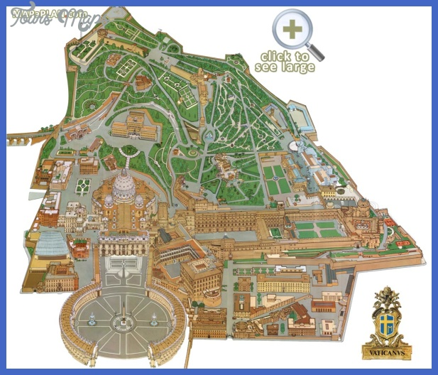 rome top tourist attractions map 04 vatican city birds eye aerial 3d main buildings view Rome Map Tourist Attractions