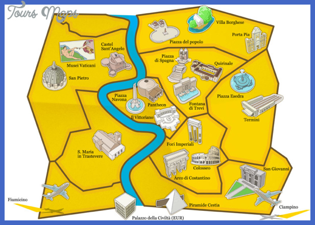 rome map 1 Rome Map