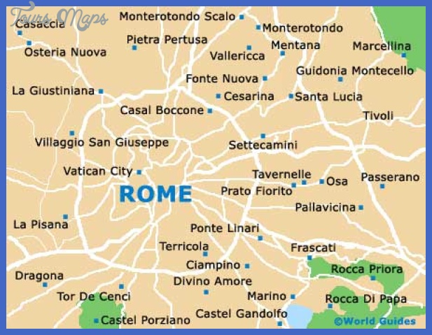 rome map Rome Map