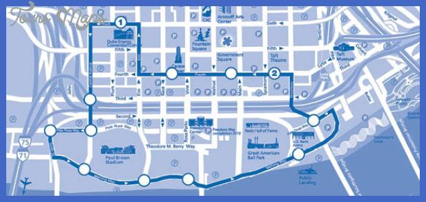 rt 85 map revised Cincinnati Metro Map
