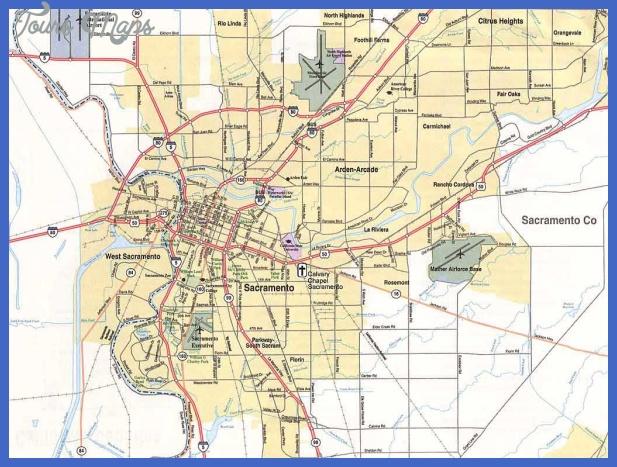 sacramento map3 Sacramento Map