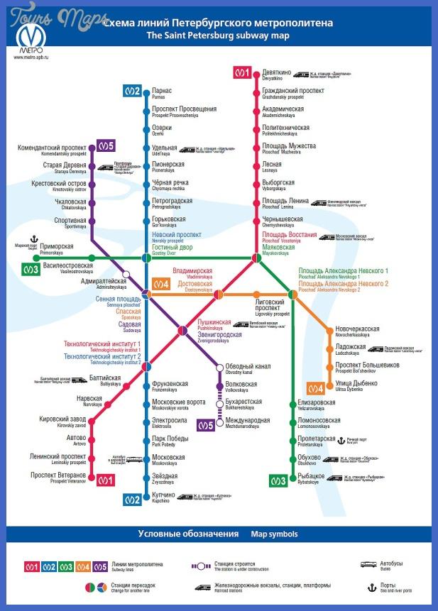 saint peterburg metro map02 South Sudan Metro Map