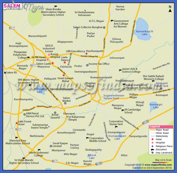 salem city map Winston Salem city Map