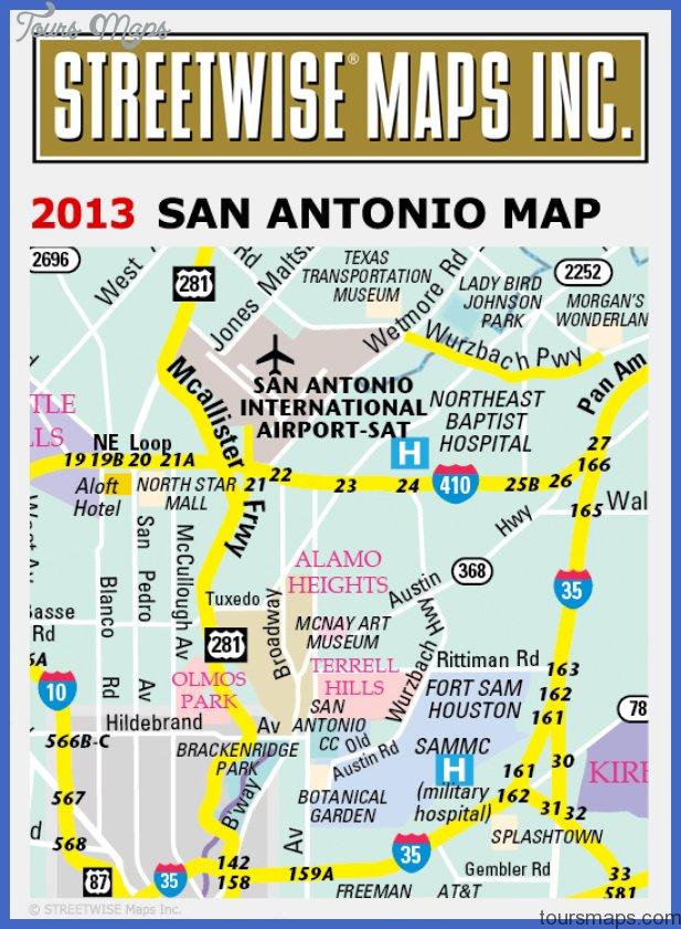 san antonio map 008 San Antonio Map