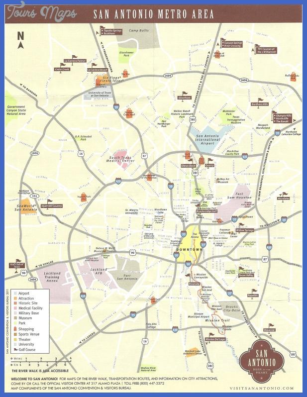 san antonio metro map Accra Metro Map