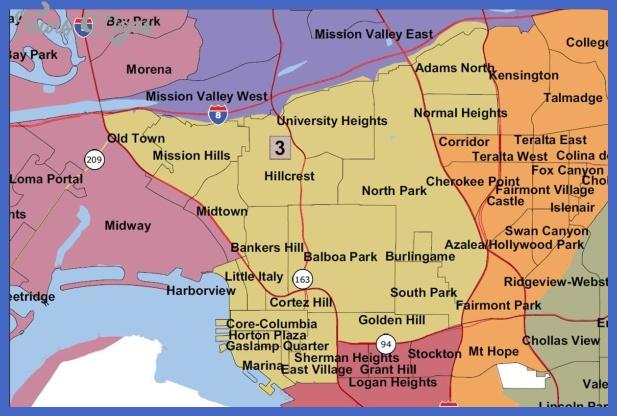 san diego metro map  15 San Diego Metro Map