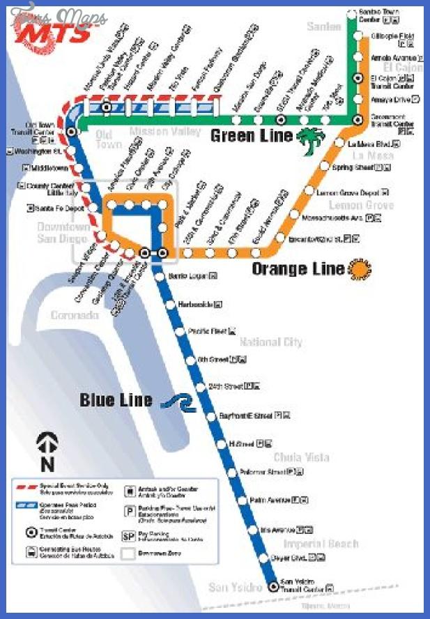 san diego metro map  19 San Diego Metro Map