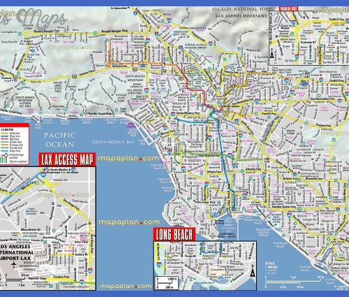 Santa Ana Map Tourist Attractions _2