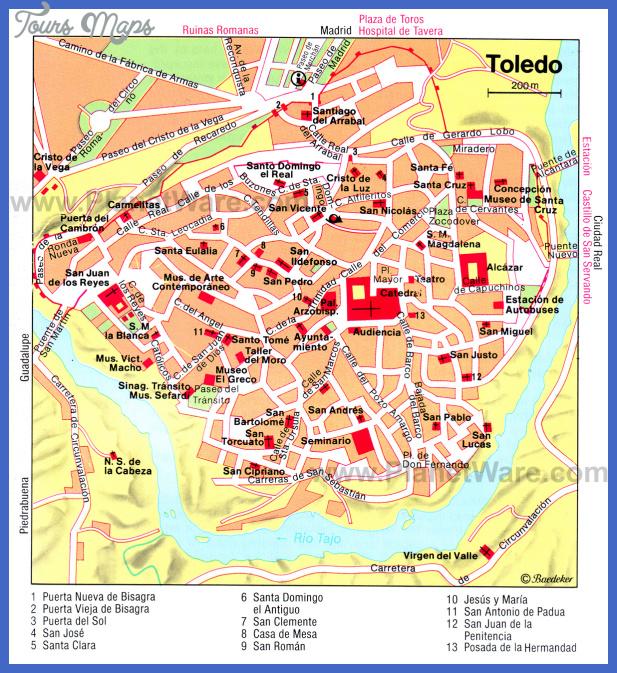 santiago map tourist attractions  7 Santiago Map Tourist Attractions