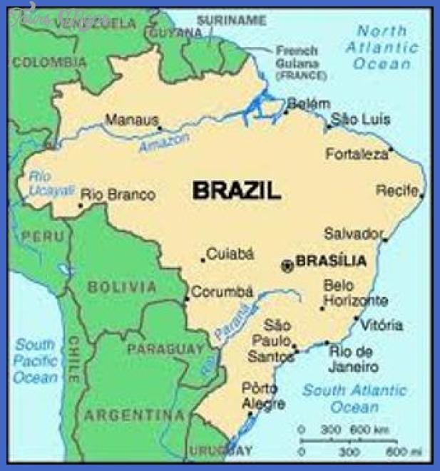 sao paulo brazil map Sao Paulo Map Tourist Attractions