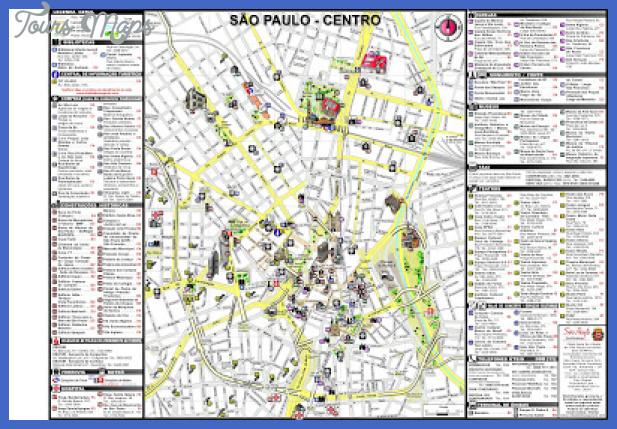 sao paulo map tourist attractions  10 Sao Paulo Map Tourist Attractions