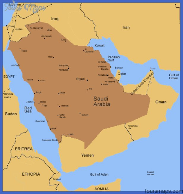 saudi arabia map tourist attractions  17 Saudi Arabia Map Tourist Attractions