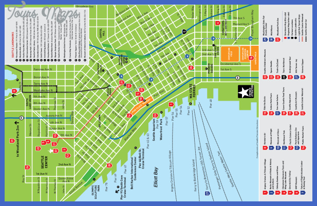 seattle map tourist attractions  5 Seattle Map Tourist Attractions