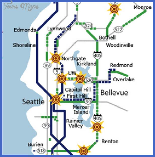 seattle metro map  7 Seattle Metro Map