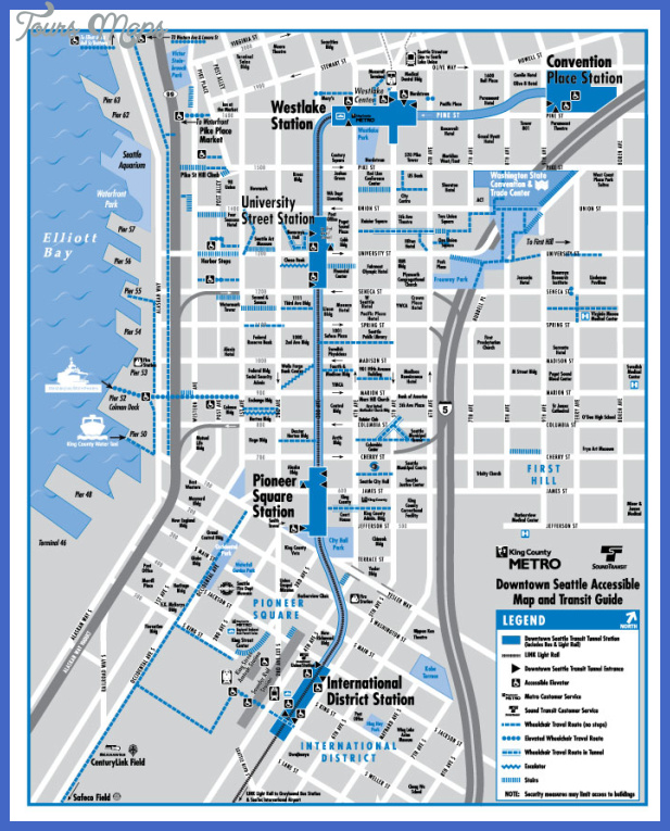 seattle accessibility map 700x874 Seattle Metro Map