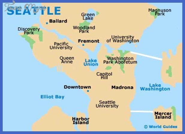 seattle map Seattle Map