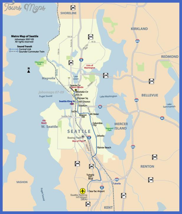 seattlemetro Seattle Metro Map