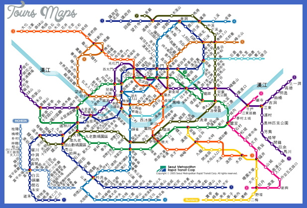 seoul subway chinese fanti 1 Houston Subway Map