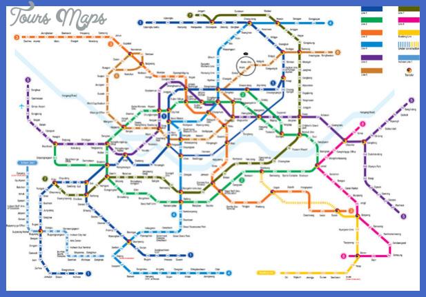 seoul subway map 2 mediumthumb Detroit Subway Map