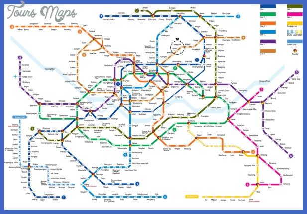 seoul subway map 2 St. Louis Subway Map