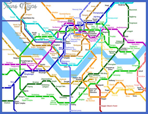 seoul Algeria Subway Map