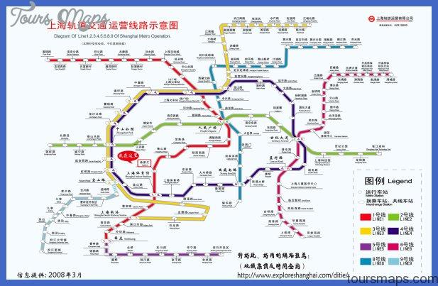 Printable Shanghai Subway Map.Shanghai Metro Map Toursmaps Com