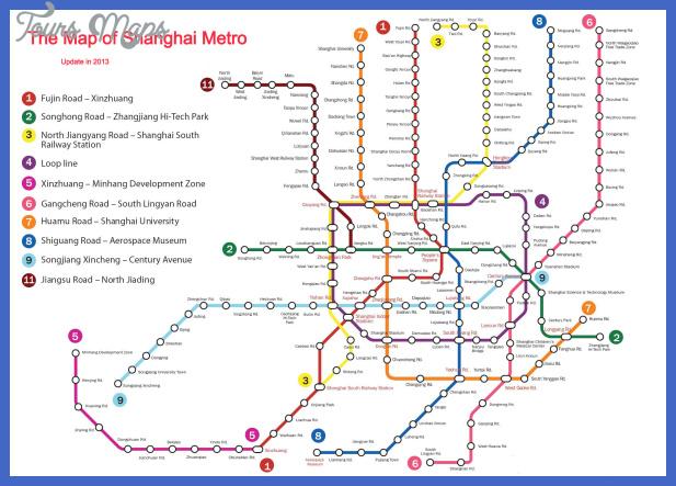 shanghai metro map  6 Shanghai Metro Map