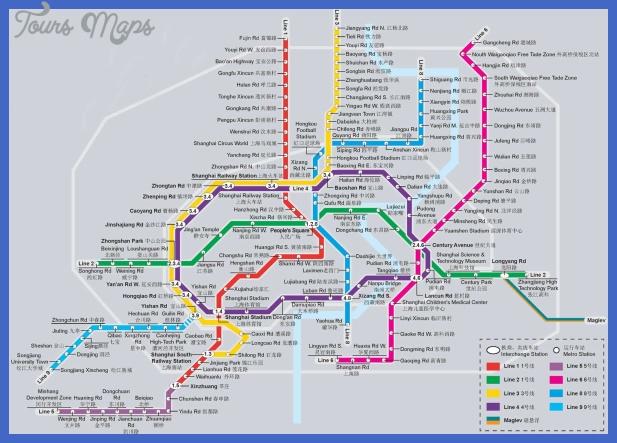shanghai metro map China Subway Map