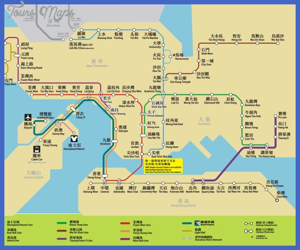shantou subway map  4 Shantou Subway Map