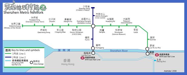 shenzhen map tourist attractions  1 Shenzhen Map Tourist Attractions