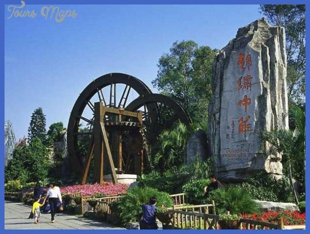 shenzhen map tourist attractions  3 Shenzhen Map Tourist Attractions