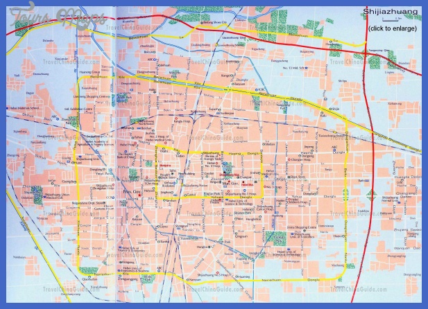 shijiazhuang map tourist attractions  0 Shijiazhuang Map Tourist Attractions
