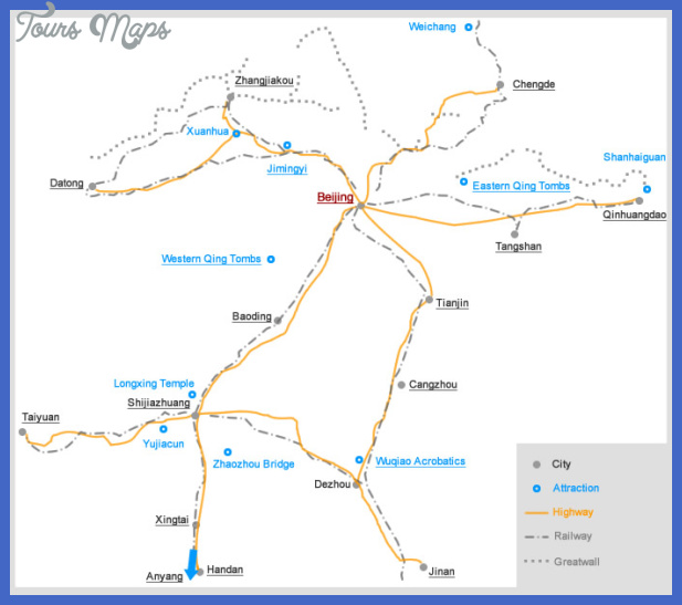 shijiazhuang map tourist attractions  4 Shijiazhuang Map Tourist Attractions