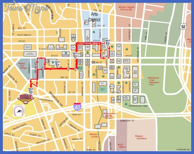 shuttlemapproposedwebcopyrevised 1 Winston Salem city Map