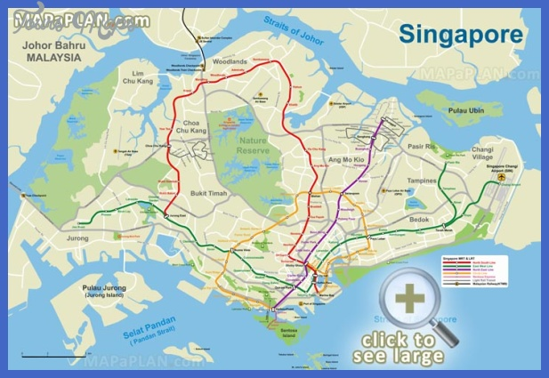 Singapore Map Tourist Attractions ToursMapsCom – Singapore Tourist Attractions Map