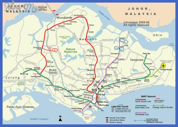 singaporemetro 1 Singapore Subway Map