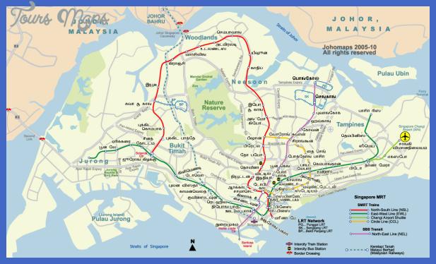 singaporemetro tam Singapore Subway Map