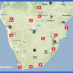 southernafricamap2 150x150 South Africa Map Tourist Attractions