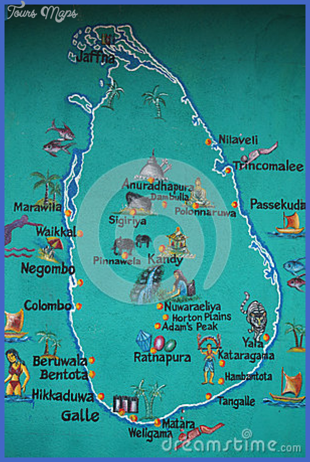 sri lanka map marked tourist attractions 34520323 1 Sri Lanka Map Tourist Attractions