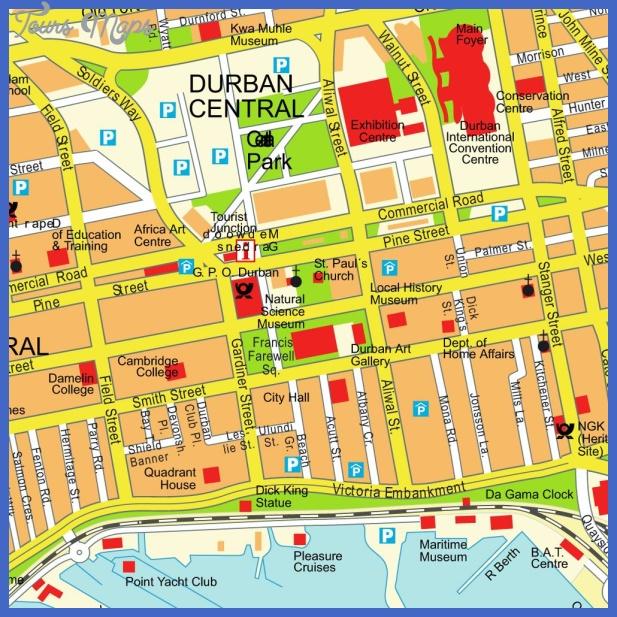 stadtplan durban 7716 Durban Map