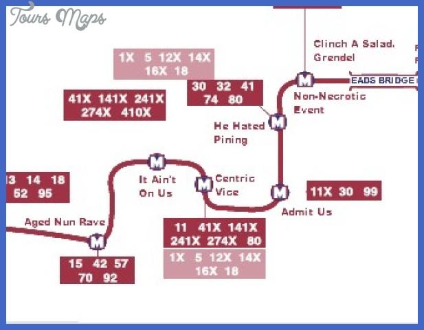 stlouisanagrammap1 St. Louis Subway Map
