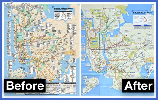 subway map nyc redesign South Africa Subway Map