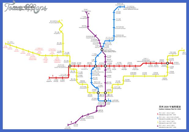 suzhou subway map  0 Suzhou Subway Map