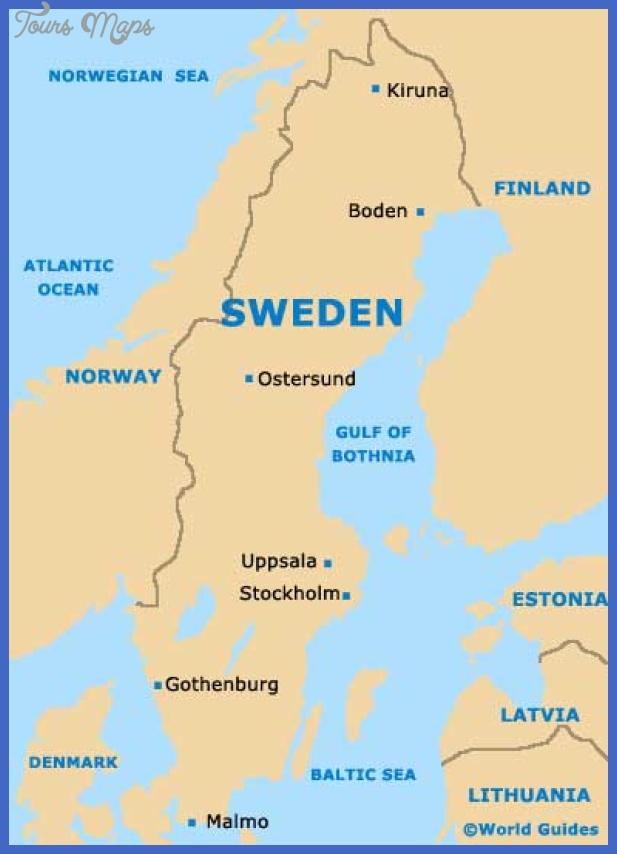 sweden map  11 Sweden Map