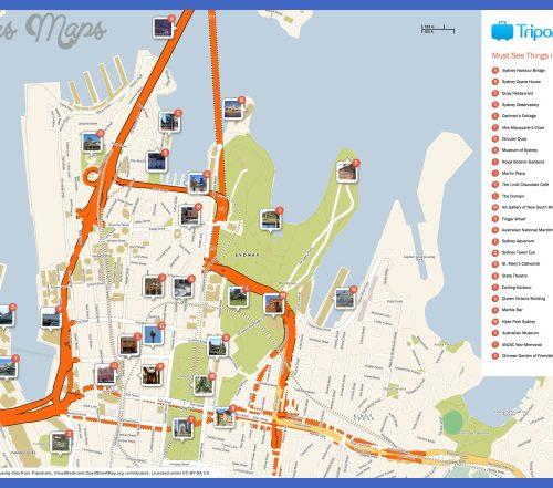 Sydney Map Tourist Attractions  _0.jpg