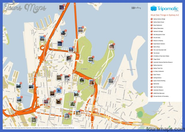 Sydney Map Tourist Attractions  _0.jpg